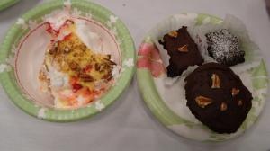 Claudie C. Royals Banquet Dessert