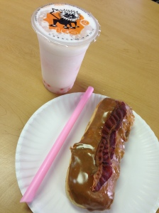 AM Donuts serves Bubble Tea!