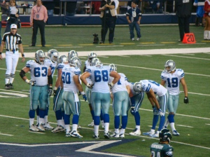 Dallas Cowboys home game