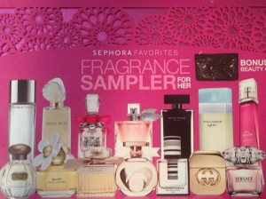 Sephora Fragrance Sampler