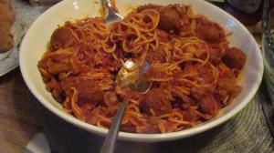 Nanay's Bomb Diggety Spaghetti