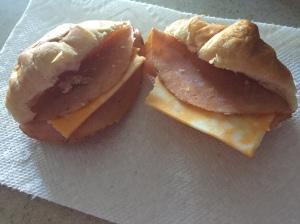 Cajun Croissant Sandwich