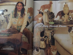 Cable Cat Lady