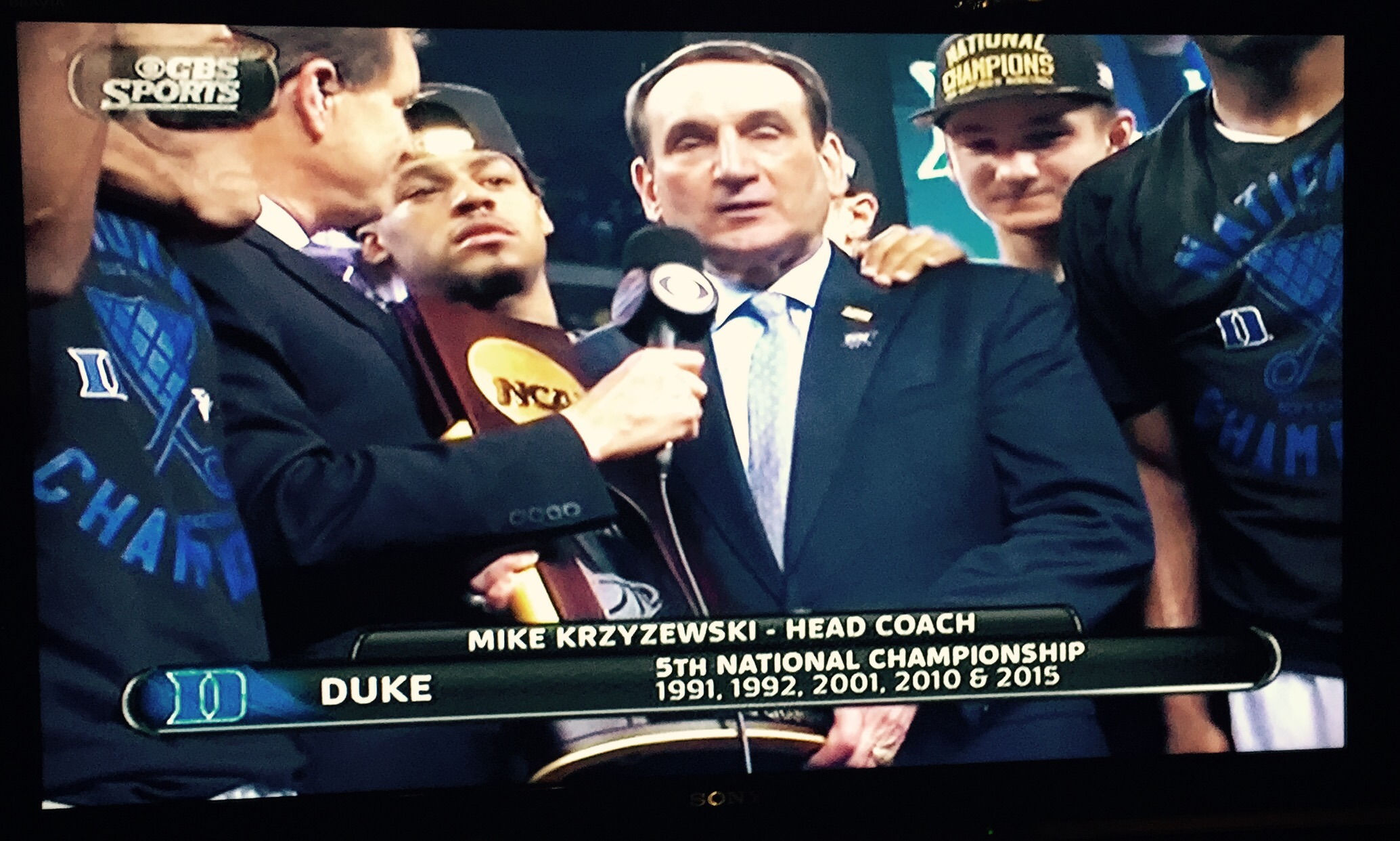 Coach K: Live Five