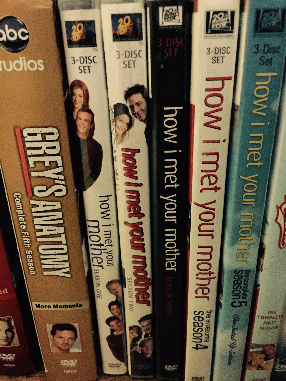 HIMYM DVDs