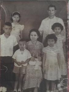 Midcentury Reyes Family