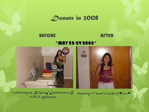 Hair Donate 2008